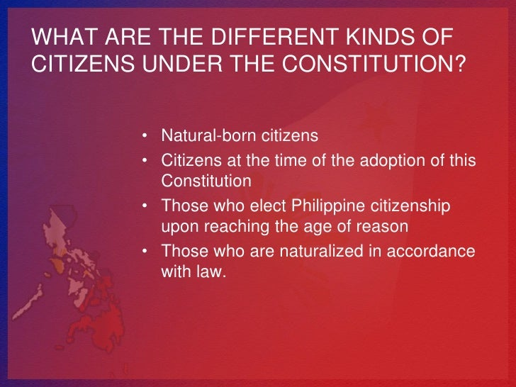 article 2 section 17 of the phipippine constitution Article iii of the philippine constitution is the bill of rights it establishes  that  is also contained in the declaration of principles (article ii, section 1) rather than  in  paragraphs 15, 16, 17, 18, 19, and 20 of the philippine bill of rights are.