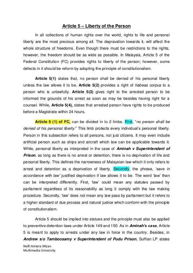 article 5 constitution