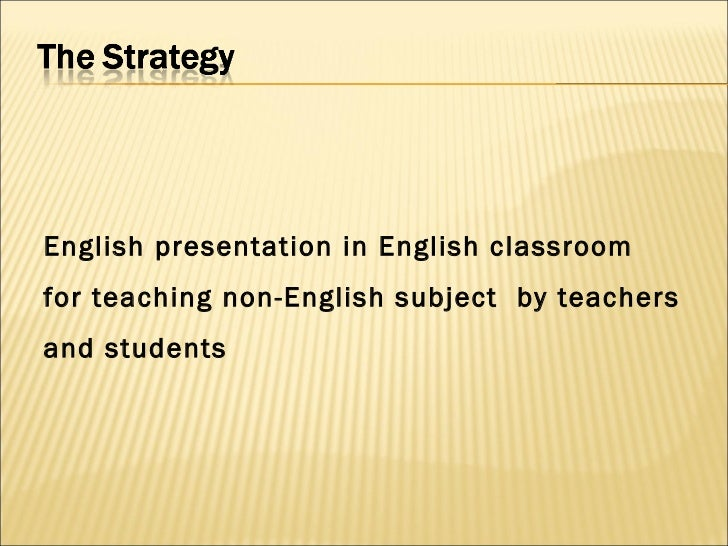 english presentations for non english subjects 5 english presentation