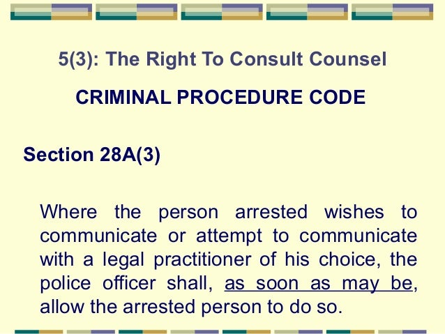 article / recognized whatever procedures
