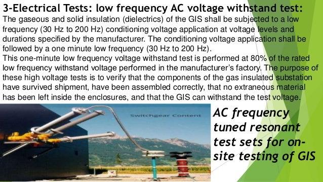 Gis 200 Test : high voltage gas insulted switchgear gis field testing according to ~ Aude.kayakingforconservation.com Haus und Dekorationen