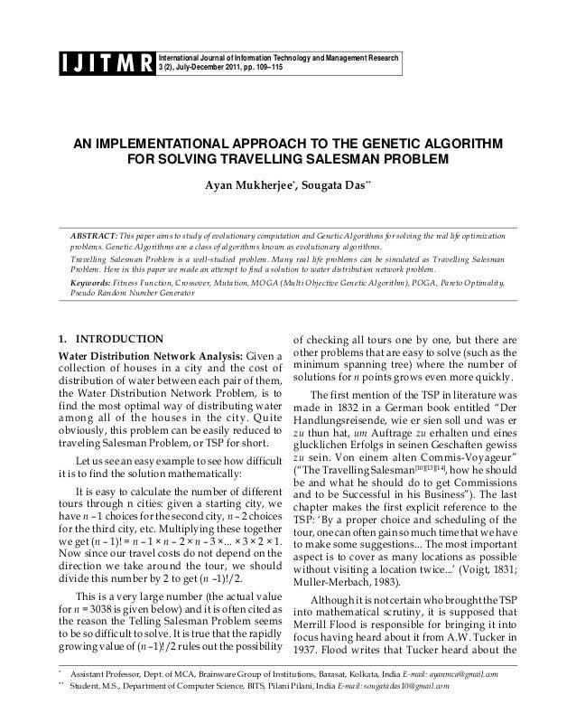 International Journal of Information Technology and Management Research 3 (2), July-December 2011, pp. 109–115I J I T M R ...