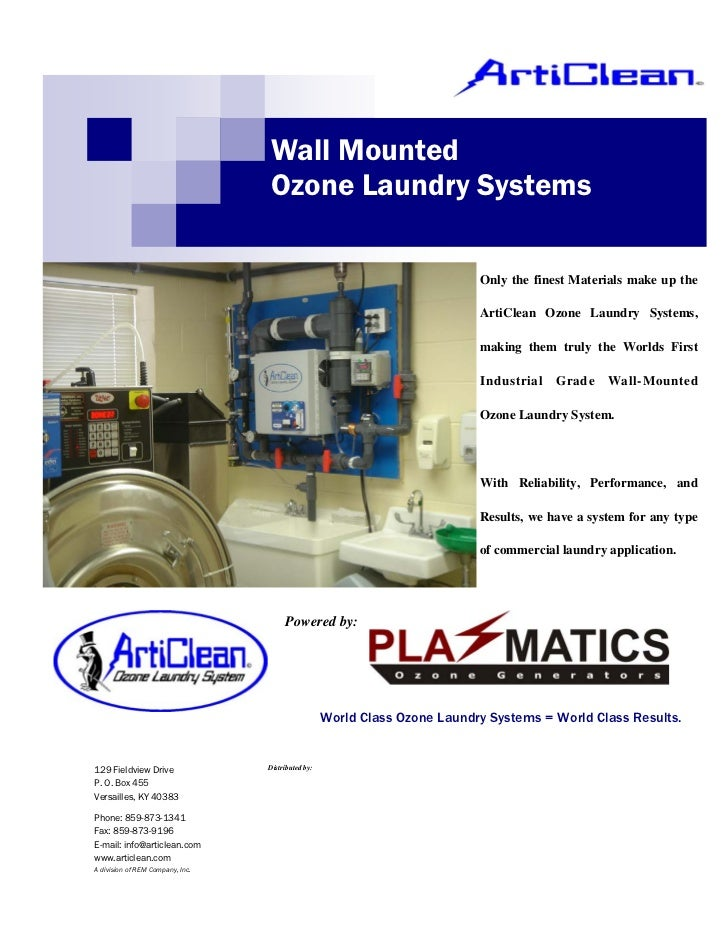 Wall Mounted                                  Ozone Laundry Systems                                                       ...
