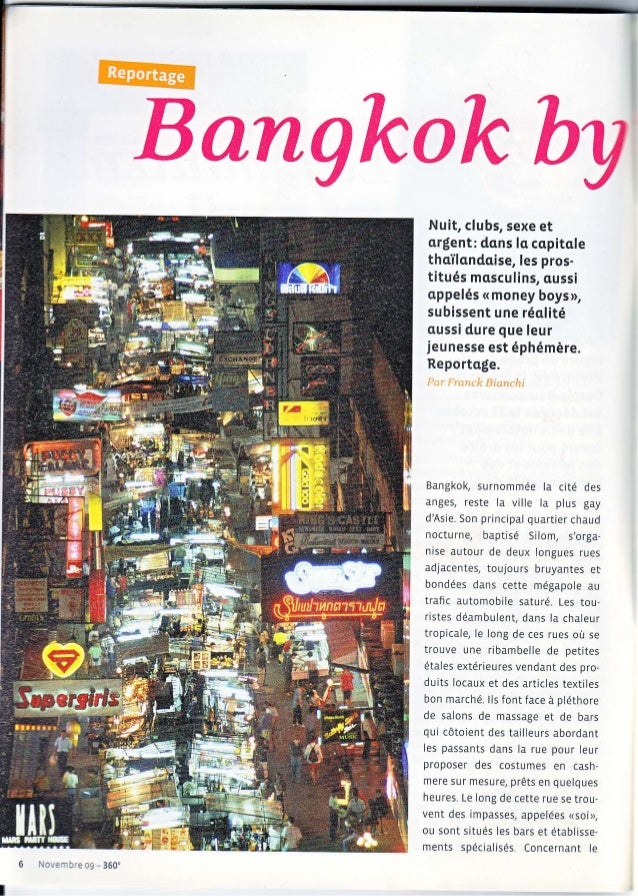r,fI!?æ Bangkokby Nuit, clubs, sexe et argient: dans la copitale thailcndaise, les pros- titués mcsculins, cussi appelés (...