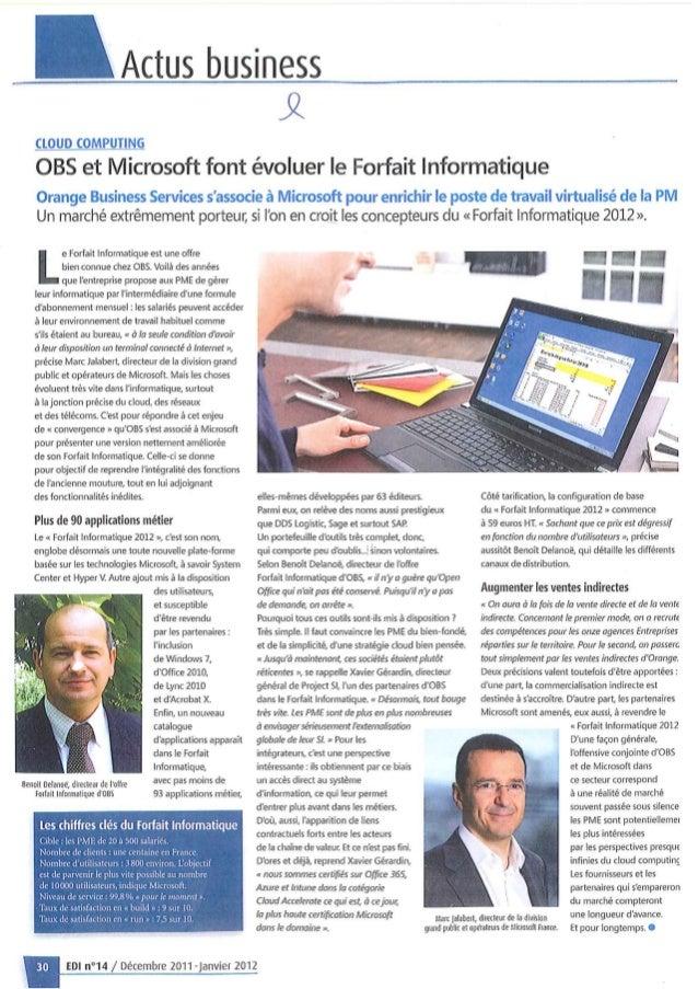 Presse project si décembre 2011 news