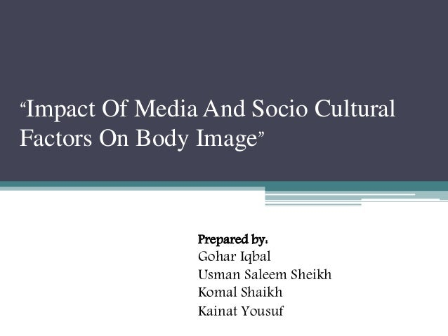 impact of media on socio cultural values This chapter provides a review of the role of the media in constructing and reinforcing stereotypes and discriminatory attitudes toward older australians.