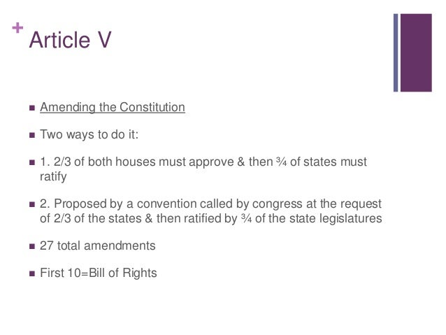 article four of the constitution