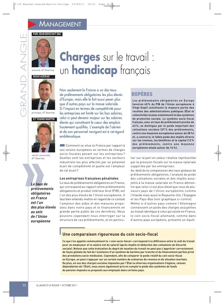 P.22 Boschat-Azerad-Martin-Corrige                23/09/11    10:51    Page 22  GRAND ANGLE         MANAGEMENT            ...