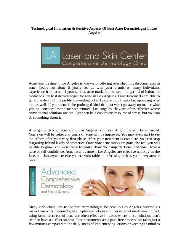 Technological Innovation & Positive Aspects Of Best Acne Dermatologis…