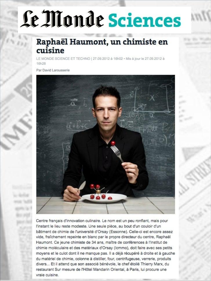 Article de David Larousserie pour Le Monde                 Jeudi 27 Septembre 2012      http://www.lemonde.fr/sciences/...
