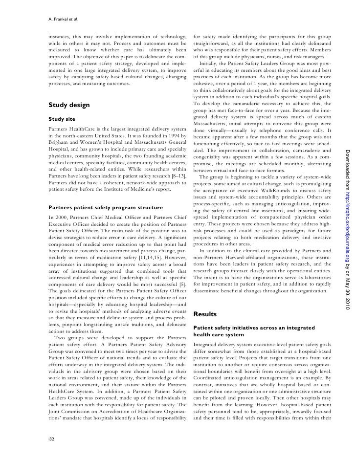 A. Frankel et al.   instances, this may involve implementation of technology,            for safety made identifying the p...