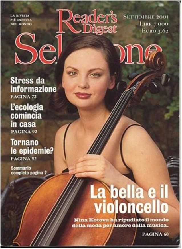 Nina Kotova: READER'S DIGEST Selezione Cover 2001
