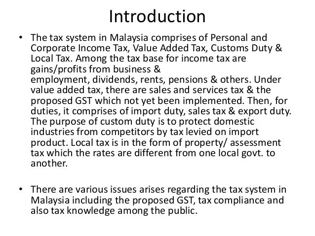 """tax assessment in malaysia Malaysia property taxes  are also required to pay an """"assessment"""" or cukai pintu this tax is calculated as a percentage of annual rental value, therefore ."""
