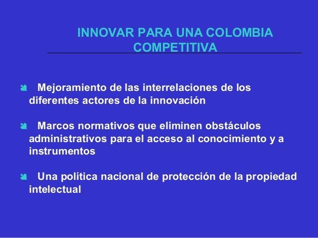 TRANSFORMACIÓN PRODUCTIVA Y SOCIAL INSERCIÓN BASADA EN FUERZAS EXÓGENAS COLOMBIA HOY TRANSFORMACIÓN PRODUCTIVAYSOCIAL DESA...
