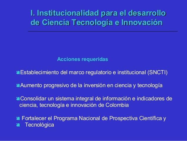  Fomento de la apropiación social de la ciencia y la tecnología a través de alianzas significativas entre los medios de c...