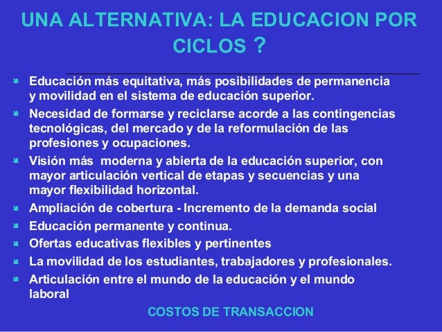 : AUMENTAR LA COBERTURA SOCIAL Y GEOGRFICA DE LA EDUCACIÓN SUPERIOR Y DIVERSIFICAR Y ARTICULAR EN FORMA SISTÉMICA LOS PRO...