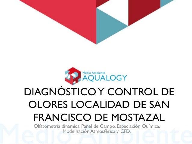 DIAGNÓSTICO Y CONTROL DE OLORES LOCALIDAD DE SAN FRANCISCO DE MOSTAZAL Olfatometría dinámica, Panel de Campo, Especiación ...