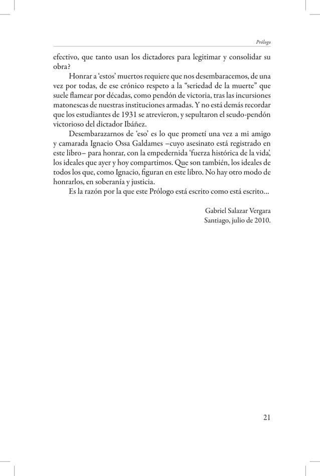 """Una luz sobre la sombra - Detenidos desaparecidos y asesinados de la Universidad  hombre se determinaba a su nacimiento: """"..."""
