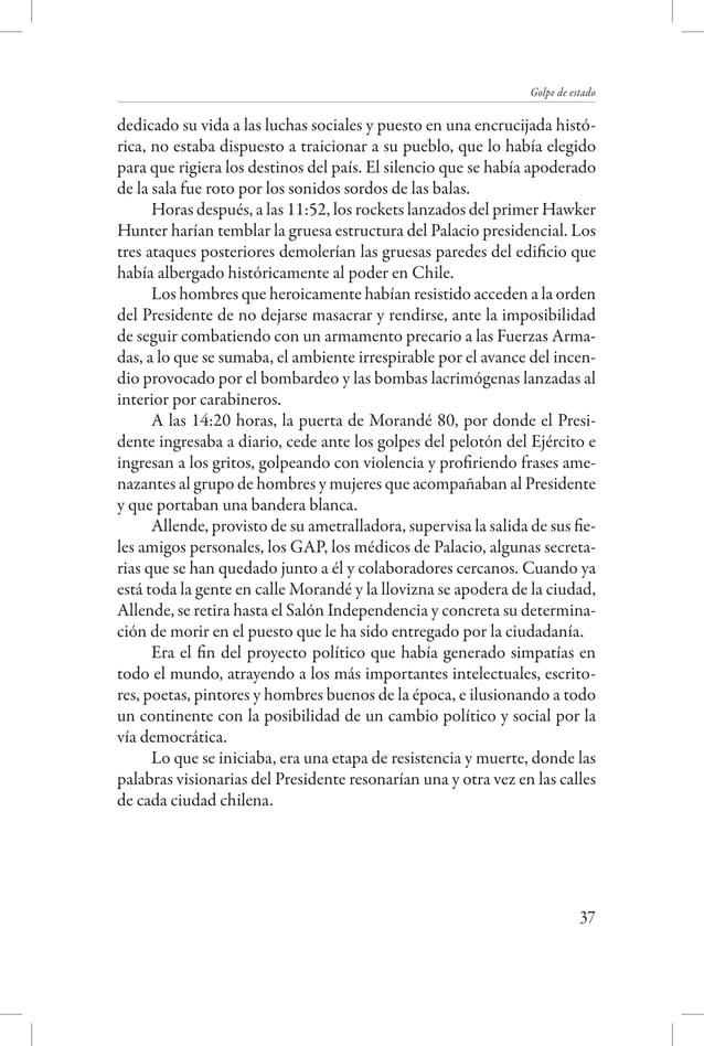 Una luz sobre la sombra - Detenidos desaparecidos y asesinados de la Universidad  Pinochet, convencido de antemano que esa...