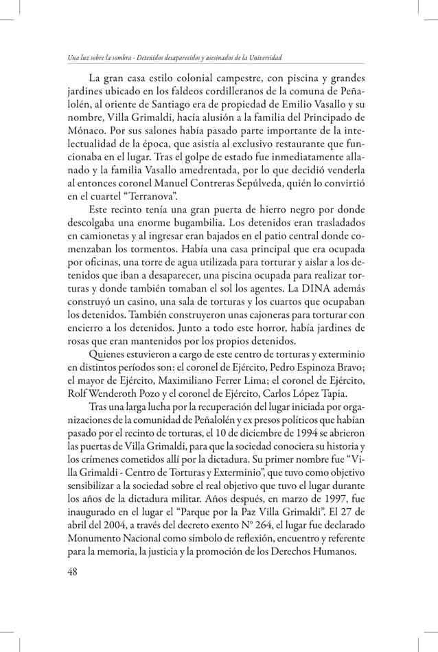 Creación de los Servicios de Seguridad  el general de Ejército Hugo Salas Wenzel, quien estuvo a cargo desde 1986 hasta lo...