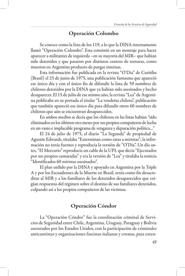Una luz sobre la sombra - Detenidos desaparecidos y asesinados de la Universidad  Universitarios en la represión  En septi...