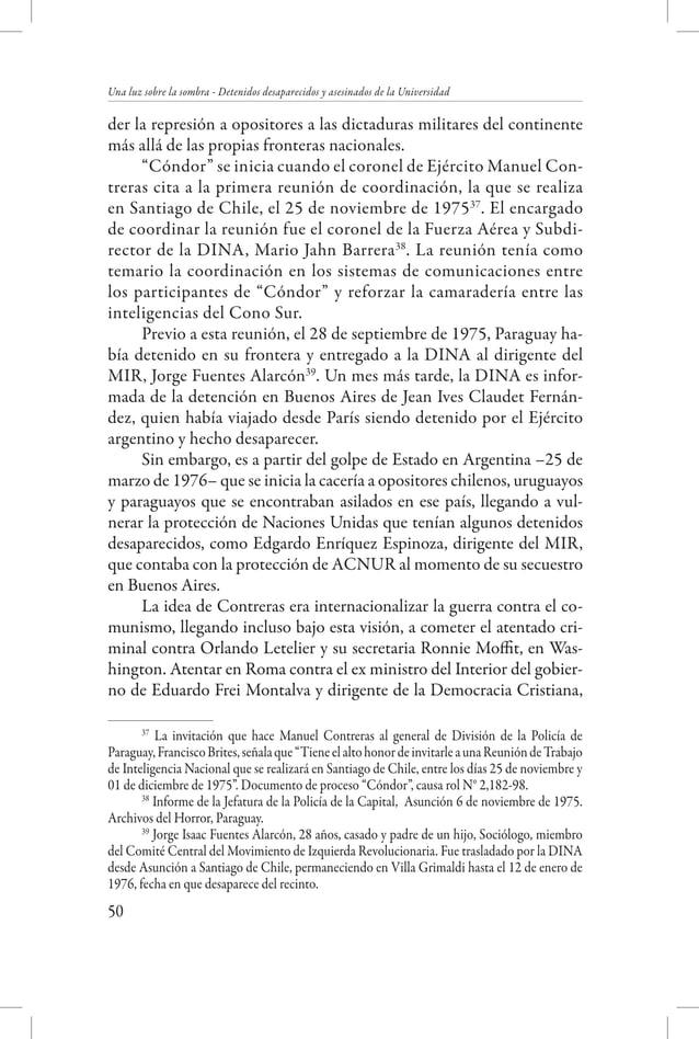 """Creación de los Servicios de Seguridad  """"Informé lo que había visto a mi superior, Guillermo Cornejo 'Feliciano', lo que c..."""