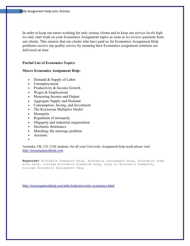 economics assignment help us acirc writing an admission essay  cover pages for assignments