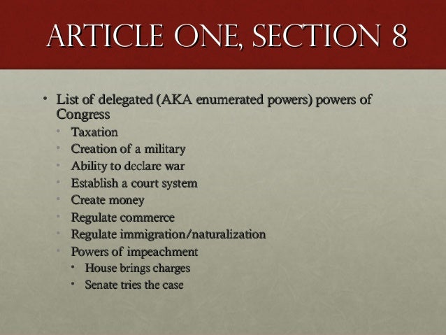 The Constitution: Articles I-III