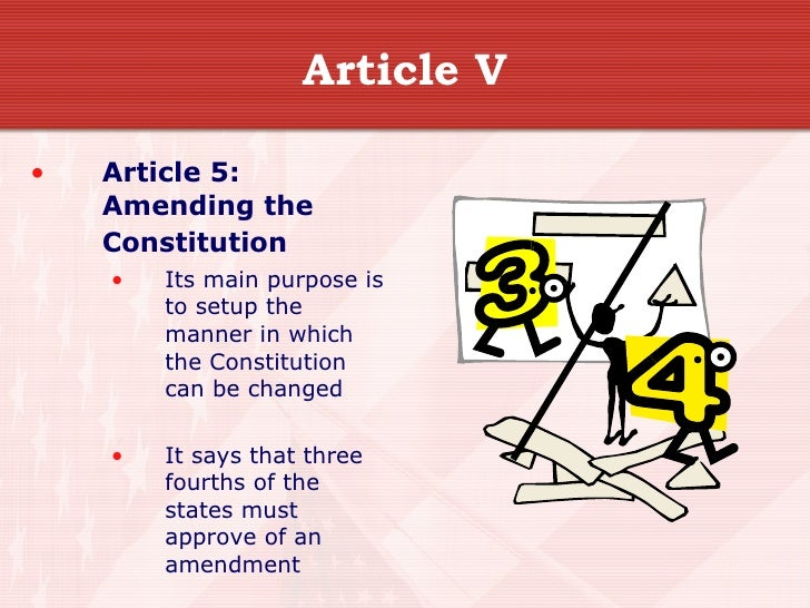 article v of the us constitution
