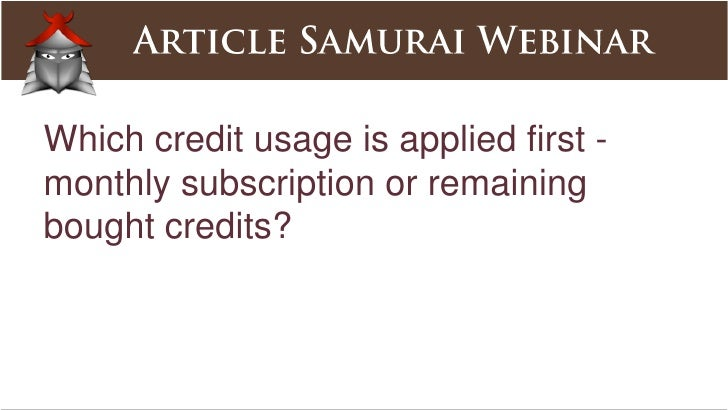 Can you resubmit past articles for syndication?<br />