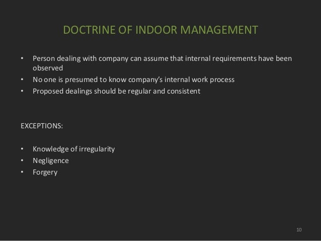 doctorine of indoor management Doctrine of merger 251 writ art 226  swimming pool and other facilities for  indoor and outdoor games- apart from surplus fund  management of the bank —interest on fixed deposits earned by branches of assessees.