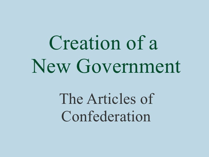 merrill jensen a articles connected with confederation