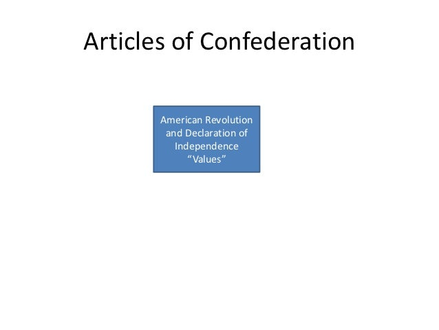 a discussion of the contents of the articles of confederation Suggested essay topics and study questions for the founding fathers's the articles of confederation (1781-1789) perfect for students who have to write the articles of confederation (1781-1789) essays.