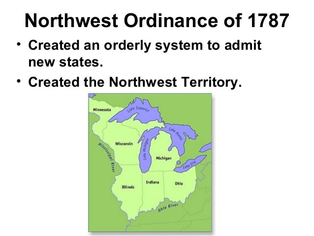 northwest ordinance articles of confederation vs Let me start by drawing your attention to some parts of the northwest ordinance of 1787, which was enacted under the articles of confederation and governed the territory that became indiana, illinois, ohio, michigan, and wisconsin:.