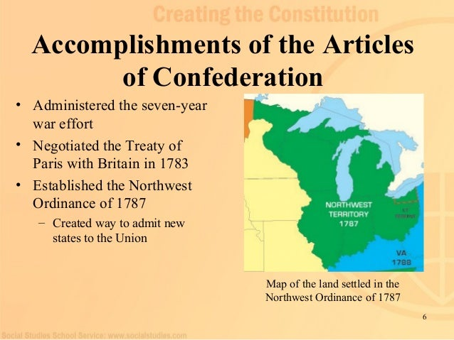 the articles of confederation and the Standard 1: foundations of government, law, and the american political system ss5c14 #2 identify the declaration of independence's grievances and the.