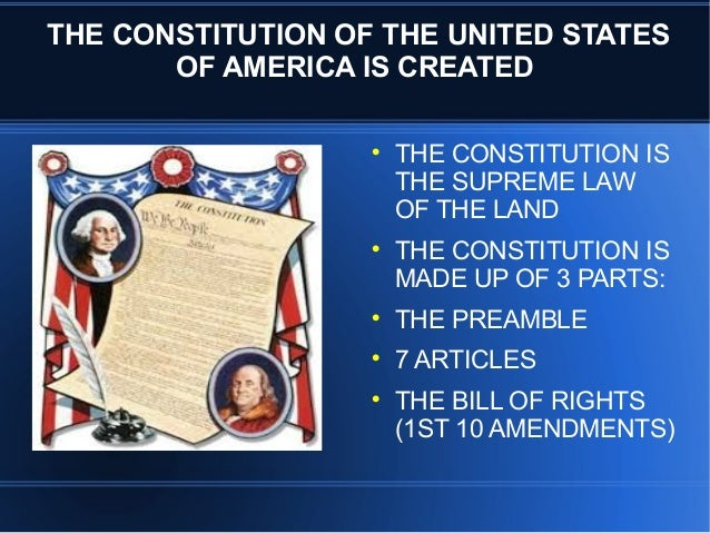 the articles and the constitution key The key landmark is the bill of rights (1689),  there are a number of associated characteristics of britain's unwritten constitution,.