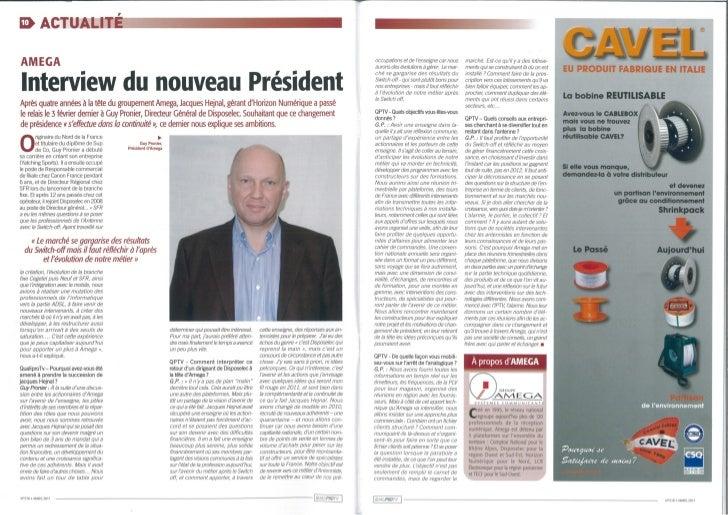 Disposelec prévoit une année 2011 riche en évènements avec CanalLe 08/03/2011Il y a un an, dans le cadre de la mise en pla...