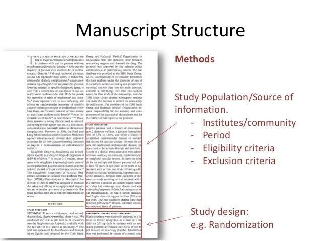 Scientific essay structure