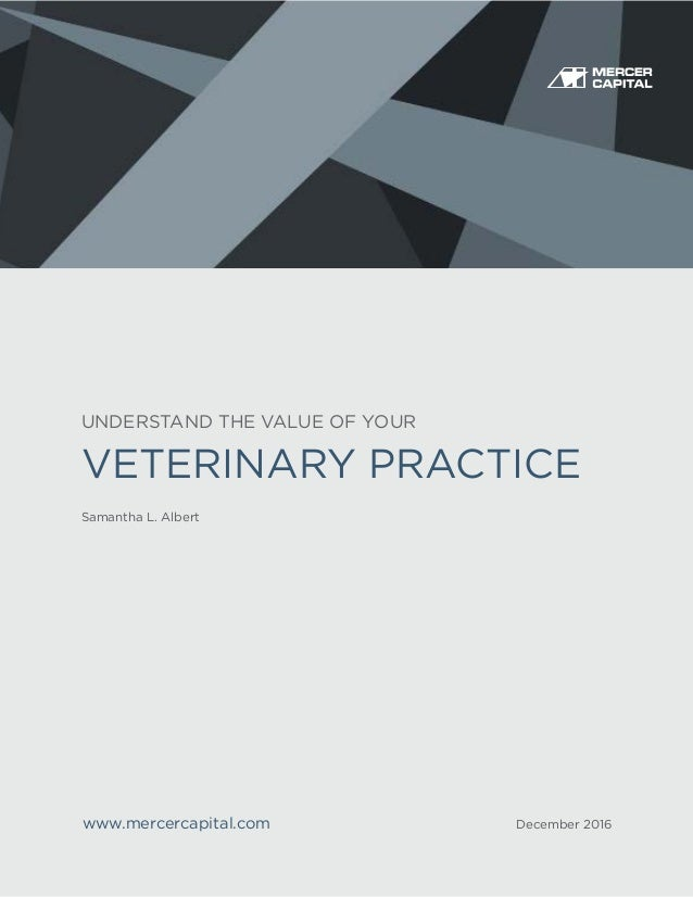 Understand The Value Of Your Veterinary Practice