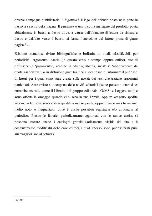 Articolo 10 Promozione e Pubblicità del libro: come si imposta lo spot. Slide 3