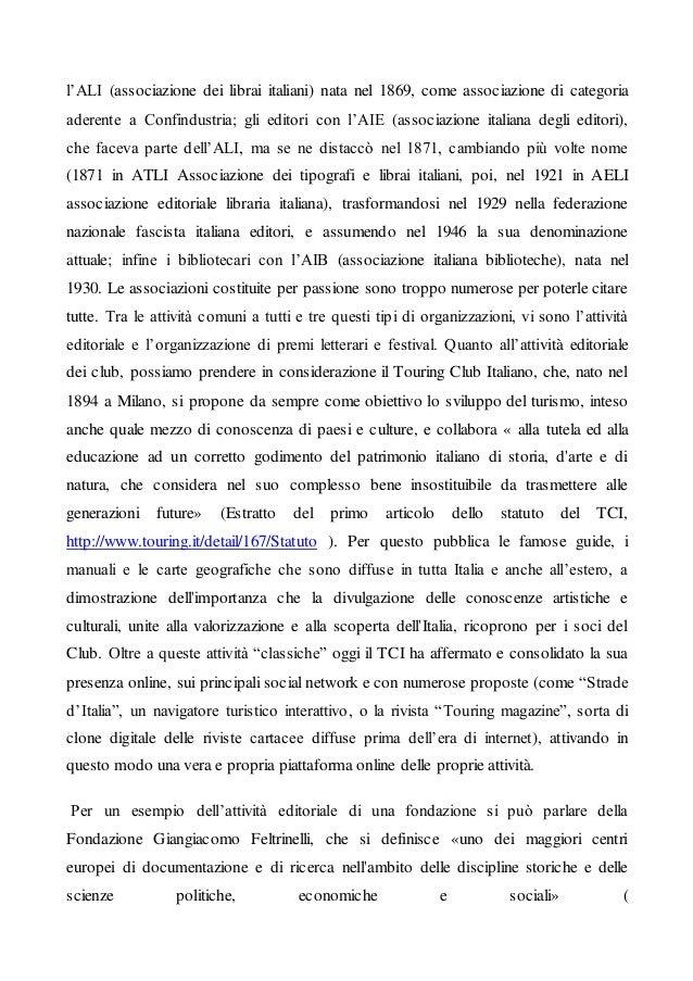 Articolo 3 Le attività di club, fondazioni, associazioni Slide 2