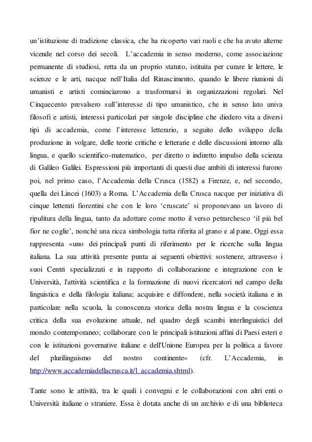 Articolo 6 Istituti culturali italiani in Italia e all'estero Slide 2