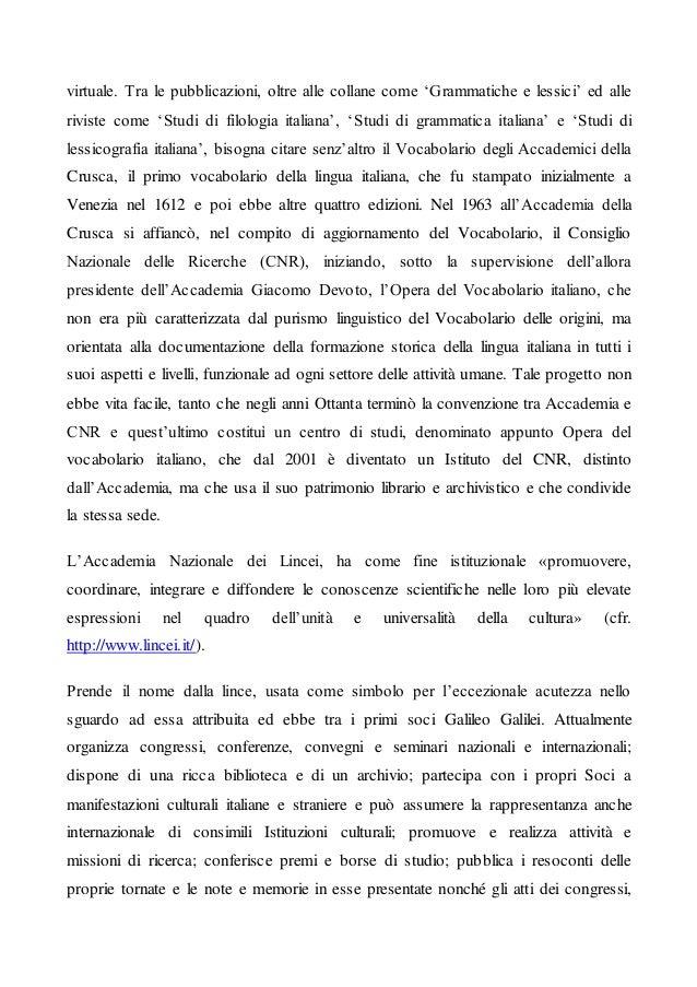 Articolo 6 Istituti culturali italiani in Italia e all'estero Slide 3