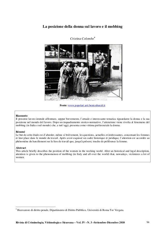 Diritto femminile datazione