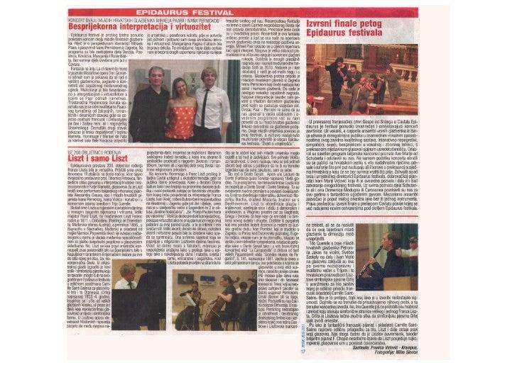 Glas grada 30th September 2011
