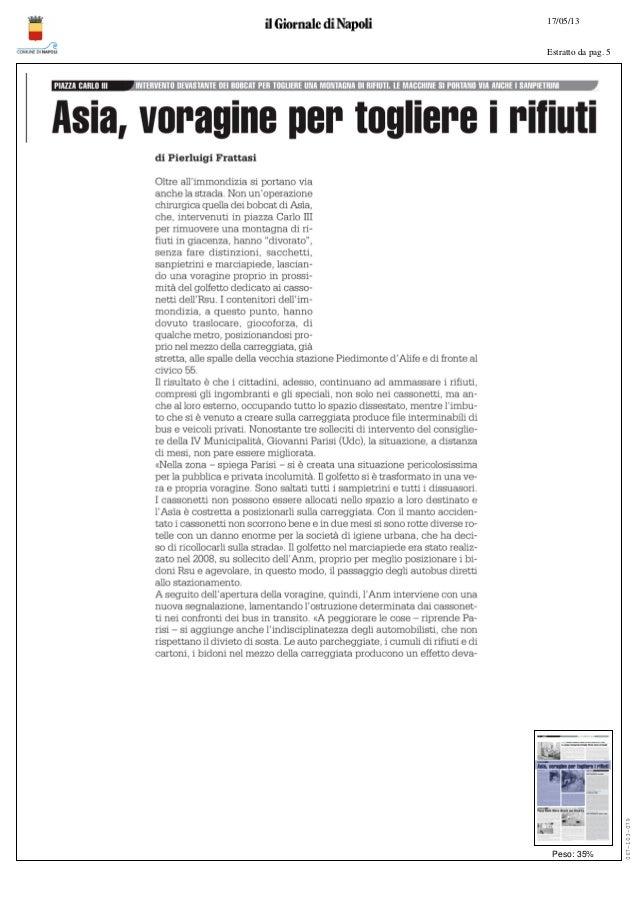 17/05/13Estratto da pag. 5Peso: 35%067-103-079