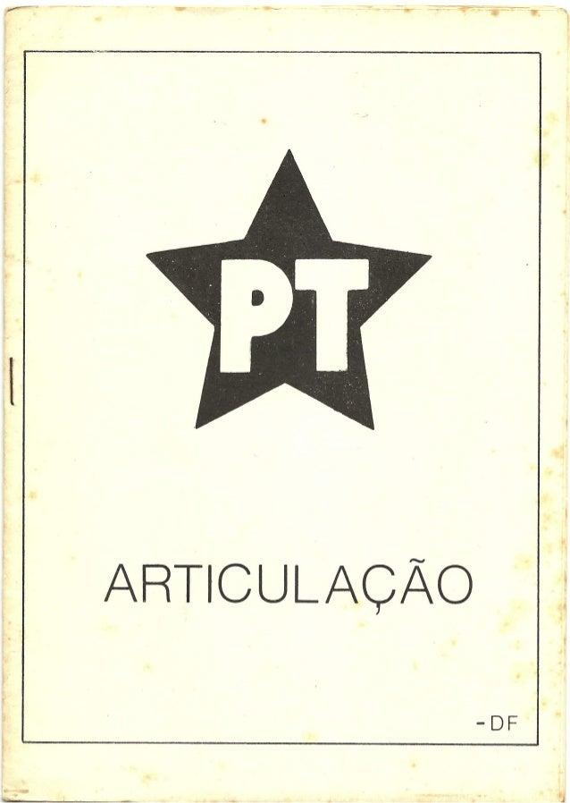 Articulação DF 1984