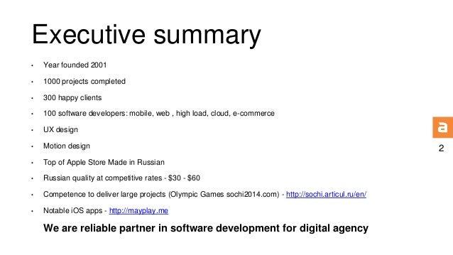 Articul agency presentation Slide 2