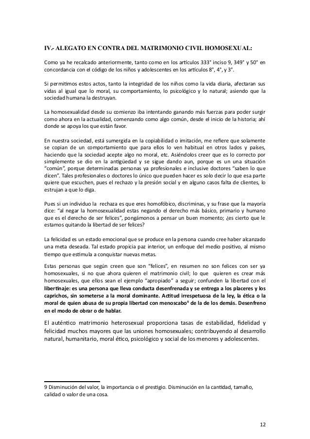 Que es el matrimonio homosexual pdf