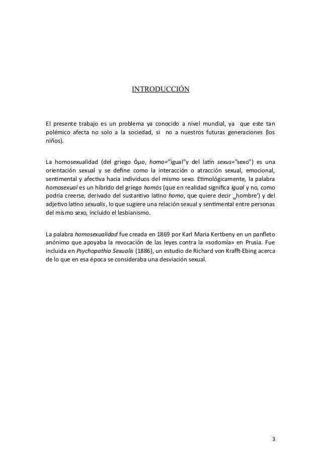 Consecuencias de la union civil homosexual en el peru